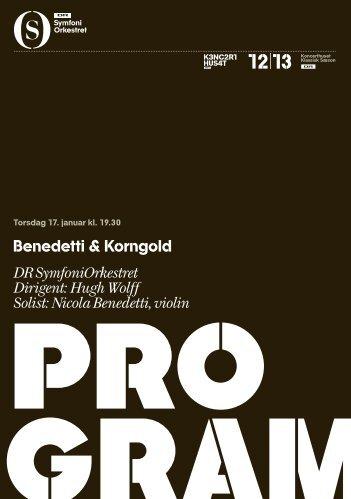 Benedetti og Korngold - DR