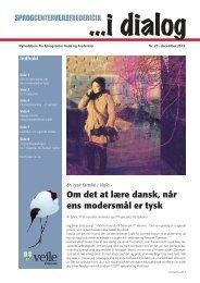 I Dialog 20 - Sprogcenter Vejle