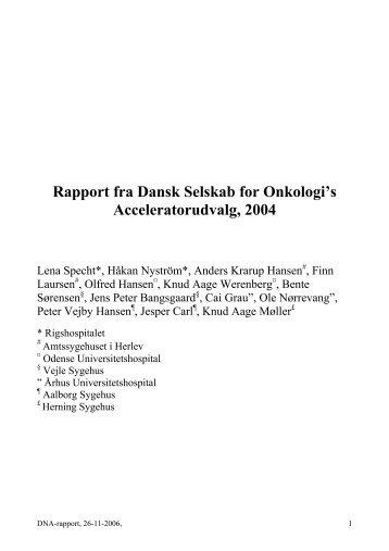 Download - Dansk Selskab for Klinisk Onkologi