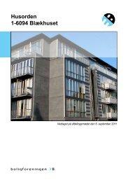 Husorden 1-6094 Blækhuset - Boligforeningen 3B