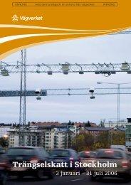 Bilaga i dagspress v. 46 - Stockholmsförsöket