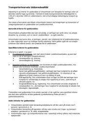 Vejledning til og kriterier for godkendelse af virksomheder