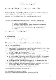 Referat fra 1 - Aabenraa Almene Boligselskab