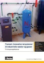 Transair: Innovative rørsystemer til industrielle væsker og gasser