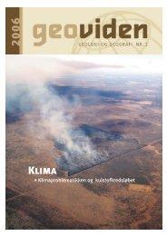 • Klimaproblematikken og kulstofkredsløbet - Geocenter København