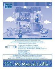 INSTRUCTIONS / INSTRUCCIONES / MODE D ... - Mega Bloks