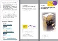 erv-d® | Elektronischer Rechtsverkehr in ... - Am-Soft It-Systeme