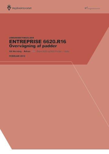 enTreprise 6620.r16 - Vejdirektoratet