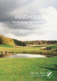 Du kan læse mere om vandhuller i denne folder - Silkeborg Kommune