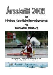 Årsskrift Kap 2005 læs tryk her - Silkeborg Kajakklub