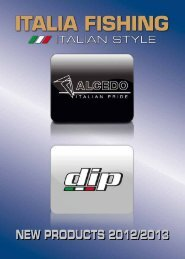 New items 2012-13. Low resolution - The World of Italia Fishing