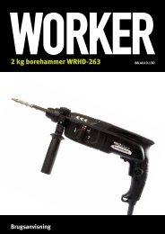 2 kg borehammer WRHD-263 - Worker