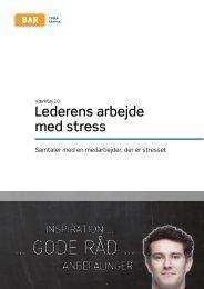 Hent Lederens arbejde med stress - Arbejdsmiljoweb.dk