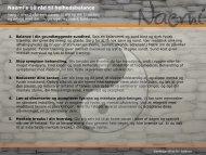 Naemi's 10 råd til helhedsbalance