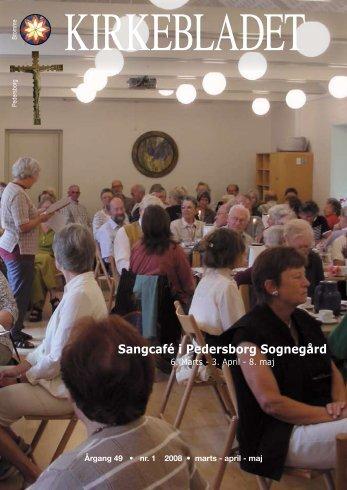 Sangcafé i Pedersborg Sognegård - BROMME og PEDERSBORG ...