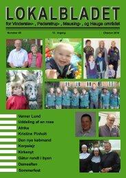 oktober 2010 - Lokalbladet - For Vinderslev-, Pederstrup-, Mausing