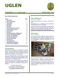 UGLEN nyhedsbrev nr. 11 Oktober 2009 - Risskov Skole