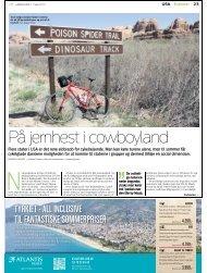 Læs artikel fra Jyllands Posten om cykelrejser i ... - Jysk Rejsebureau