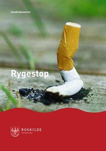 Rygestop - Sundhedscentret - Roskilde Kommune