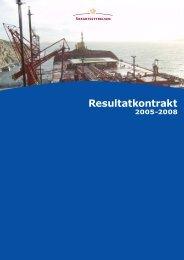 Resultatkontrakt 2005 - Søfartsstyrelsen