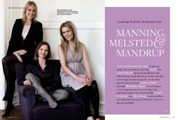 Manning, Melsted Mandrup - Coach