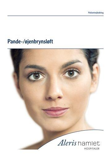 Pande-/øjenbrynsløft - Aleris