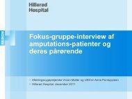 Oplæg ved Anne Pontoppidan og Vivian Møller