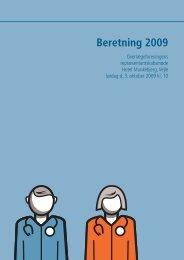 Beretning 2009 (pdf) - Lægeforeningen