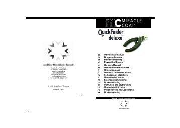 M3469_0508_EU_Final EU 0508 - QuickFinder® deluxe