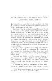 Af skibsbygmester Poul Barfoed's levnedsbeskrivelse - Handels- og ...