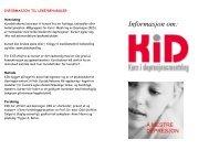 Brosjyre om KID (kurs i depresjonsmeistring)