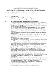 Referat fra Ordinær Generalforsamling - Horne Sommerland