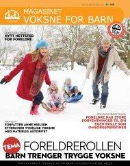 (Pdf) Magasinet Voksne for Barn 5/11 - gode foreldre