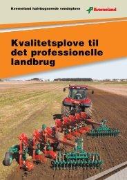 Kvalitetsplove til det professionelle landbrug