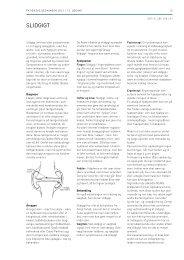 Patientvejledning for slidgigt (pdf) - Gigtforeningen
