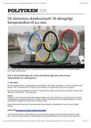 OL-historiens skrækscenarie: Et ubrugeligt kæmpestadion til 9,2 mia ...