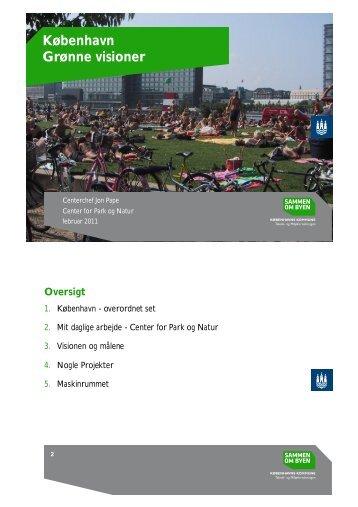 København Grønne visioner - FAGUS