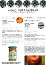 Pomerans marmelade Bagte æbler med marcipan og Januar - frugt ...