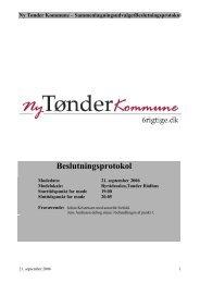 Ny Tønder Kommune ... - 6 rigtige