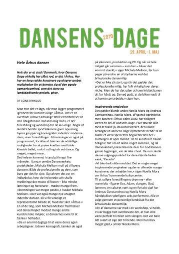 Hele Århus danser - Dansens Dag