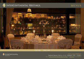 InterContinental Budapest Budapest Apaczai Csere J.u. 12-14 ...