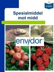 Spesialmiddel mot midd - Bayer CropScience Norge