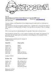 Uge 34 Gjerrild-Bønnerup Friskole, Knud Albæks Vej 4, Gjerrild ...