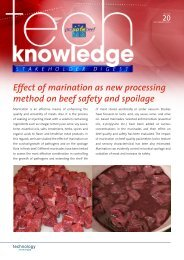 Effect of marination as new processing method on ... - ProSafeBeef