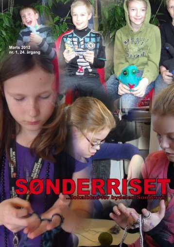 Marts 2012 nr. 1, 24. årgang - Sønderriset