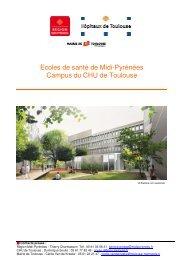 Dossier de presse du futur pôle de formation - CHU Toulouse