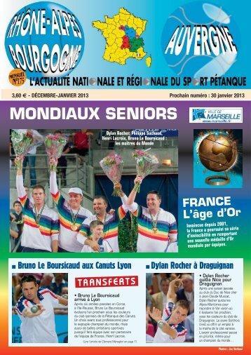 Téléchargement du numéro de Déc/Janvier 2013 - Boulistenaute