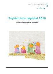 Psykiatriens nøgletal 2010 - Region Sjælland