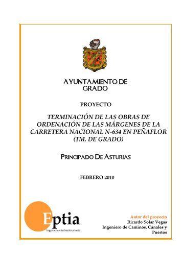 Pliego de prescripciones técnicas - Ayuntamiento de Grado