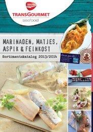 Marinaden, Matjes, Aspik & feinkost - TransGourmet Seafood